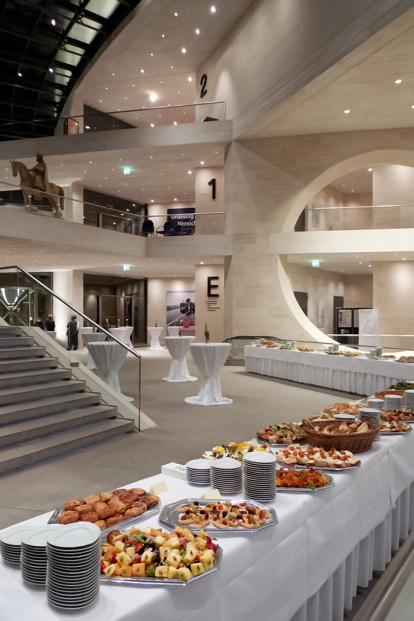 Amtseinführung Deutsches Historisches Museum - Butterstulle Catering Berlin