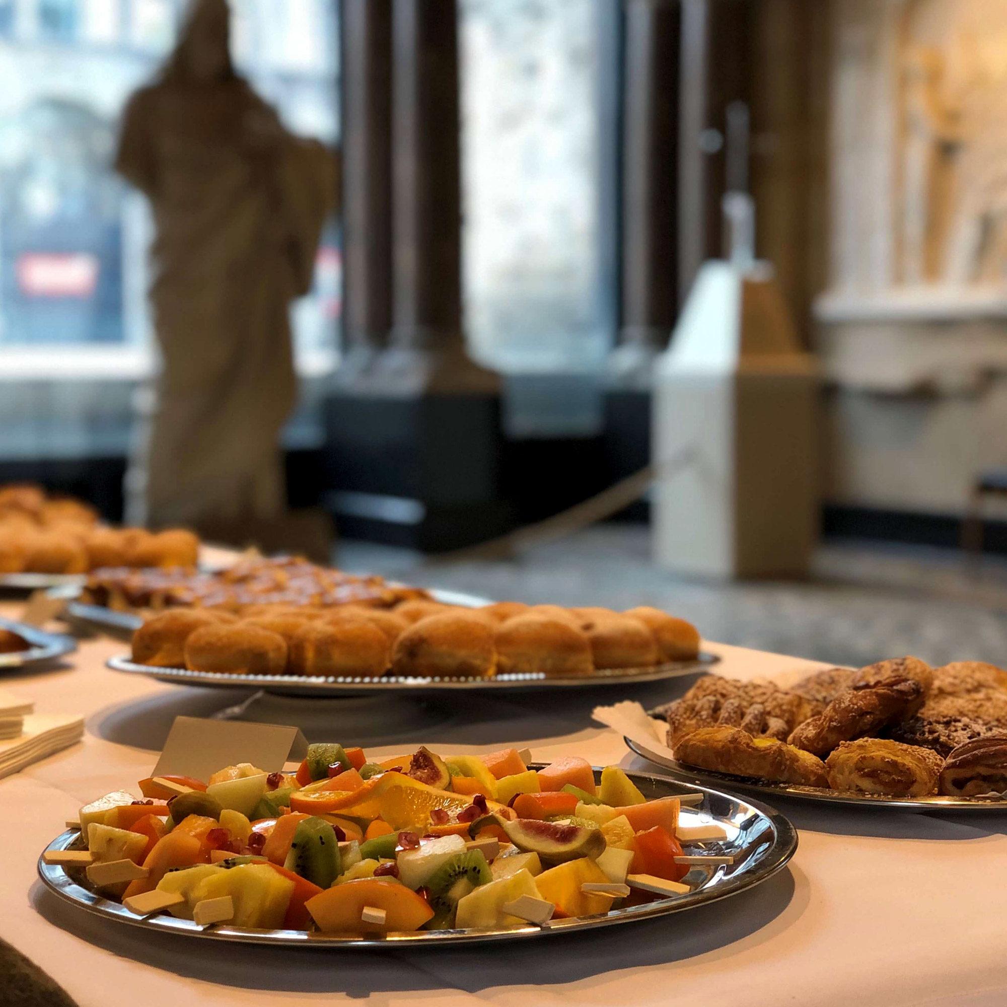 Gedaechtniskriche Gedenkfeier - Butterstulle Catering Berlin